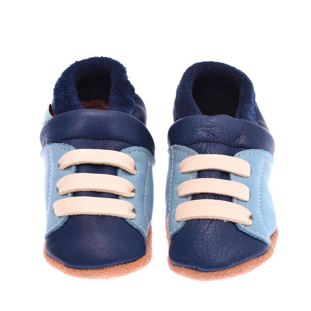 Sneaker Blau Ecopell